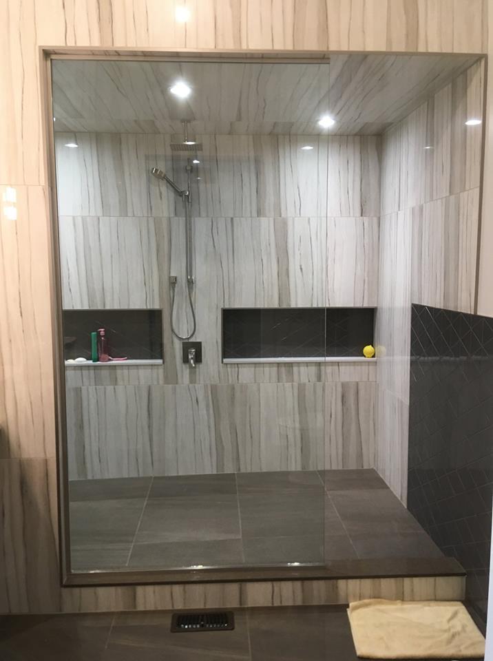 Custom Walk In Shower Castle Glass